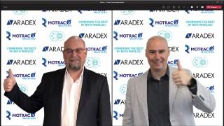 Succesvol partnerschap tussen Aradex en Motrac Industries