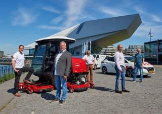 Meij de Bie wins tender lawn & garden machinery for City of Amsterdam