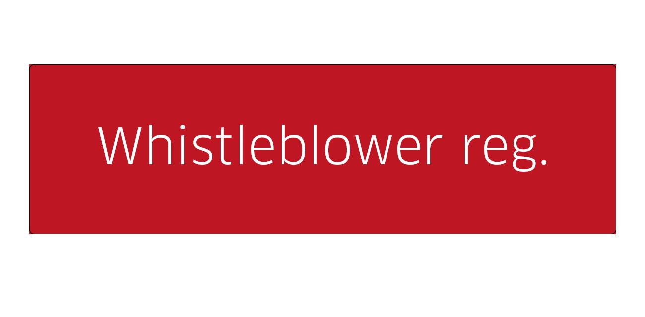 Whistleblower regulation