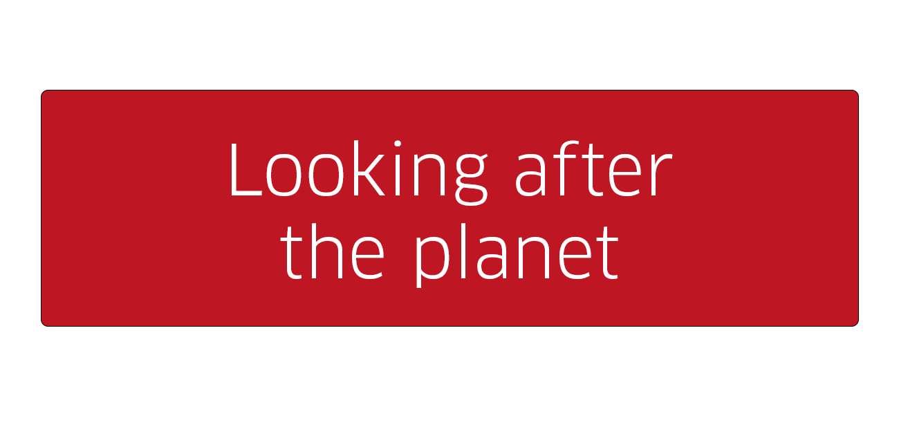 Looking after the planet